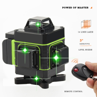 4d Laser level self leveling 360 laser level 3d nivel laser construction level construction tools herramientas de construccion