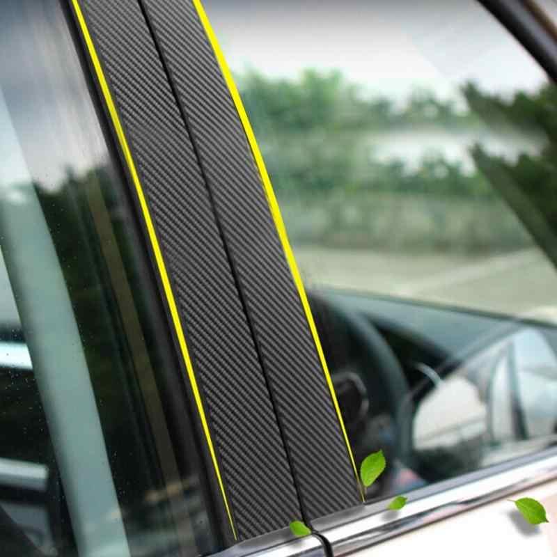 1 لفة 127 سنتيمتر X 10 سنتيمتر سيارة 3D لفائف الياف الكربون سيارة أعواد تزيين سيارة التصميم التفاف السيارات سيارة تفصيل اكسسوارات السيارات