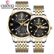 2020 New Couple Watches Luxury Brand CHENXI Men Quartz Watches