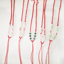Wholesale Handmade Cord Rope Chain Necklaces Pendants String Cord DIY Jewelry Accessories(China)