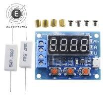 Módulo probador de capacidad de batería ZB2L3 LED, Analizador de pruebas de descarga de batería de carga externa, Micro USB, Digital, iones de litio 18650