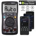 Цифровой мультиметр, беспроводной, ручной/автоматический, 6000 отсчетов, DMM, напряжение, емкость, температура, Ом, Диод