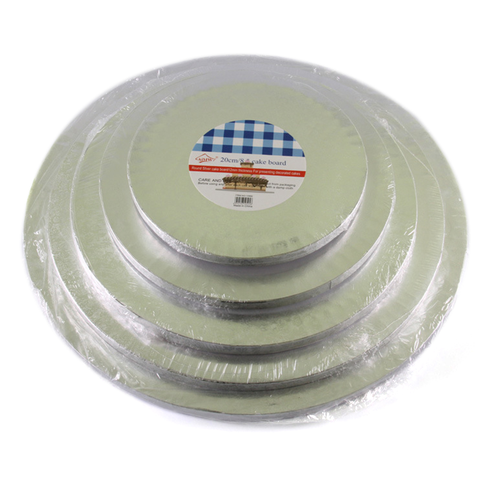 Inch Thick Round Cake Boards NonStick Mousse Paper Circle Base Cardboard Paper Mousse Cupcake For Cake Tray Pad Like-minded