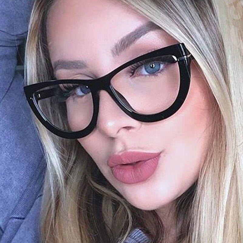 45929 Sexy Cat Eye Glasses Frames Men Women Optical Fashion Computer Glasses