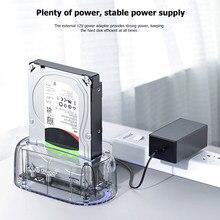HDD SSD SATA Dock Set USB 3,0 Typ-B Festplatte Station 2.5/3,5 zoll für ORICO 6139U3 haushalt Computer Sicherheit Teile
