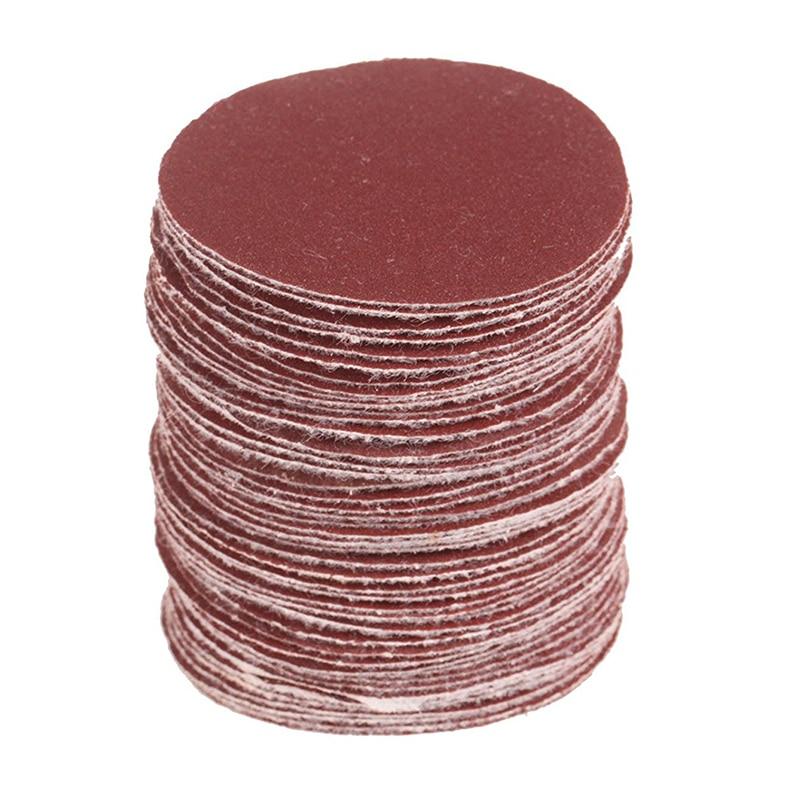 50mm (2inch) 240# Sander Disc Sanding Pad Polishing Pad For Car Polisher Pack Of 40Pcs