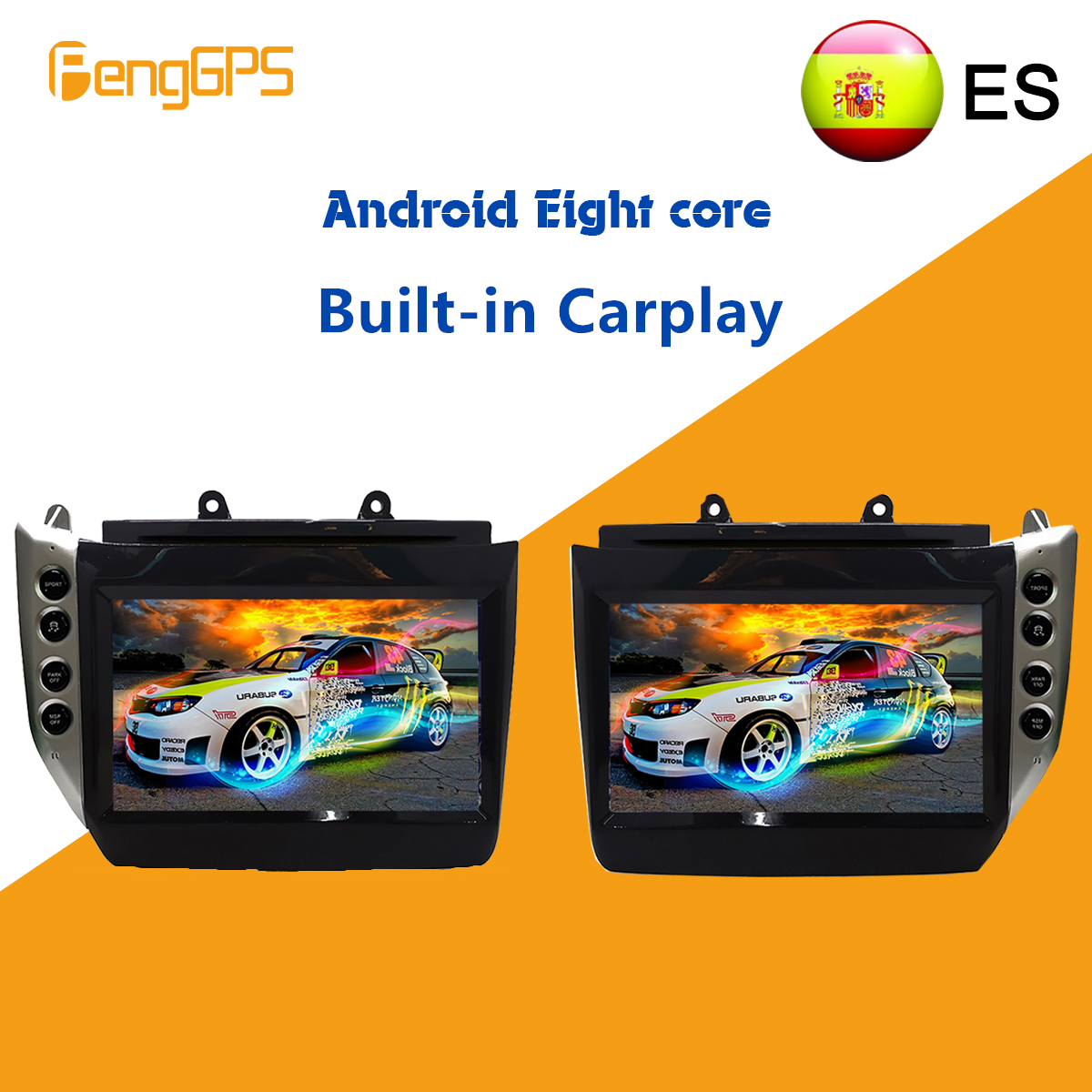 Android 8.1 4+64GB For Maserati GT/GC GranTurismo 2007 - 2017 Car Multimedia Stereo Player No DVD Radio GPS Navigation Head Unit