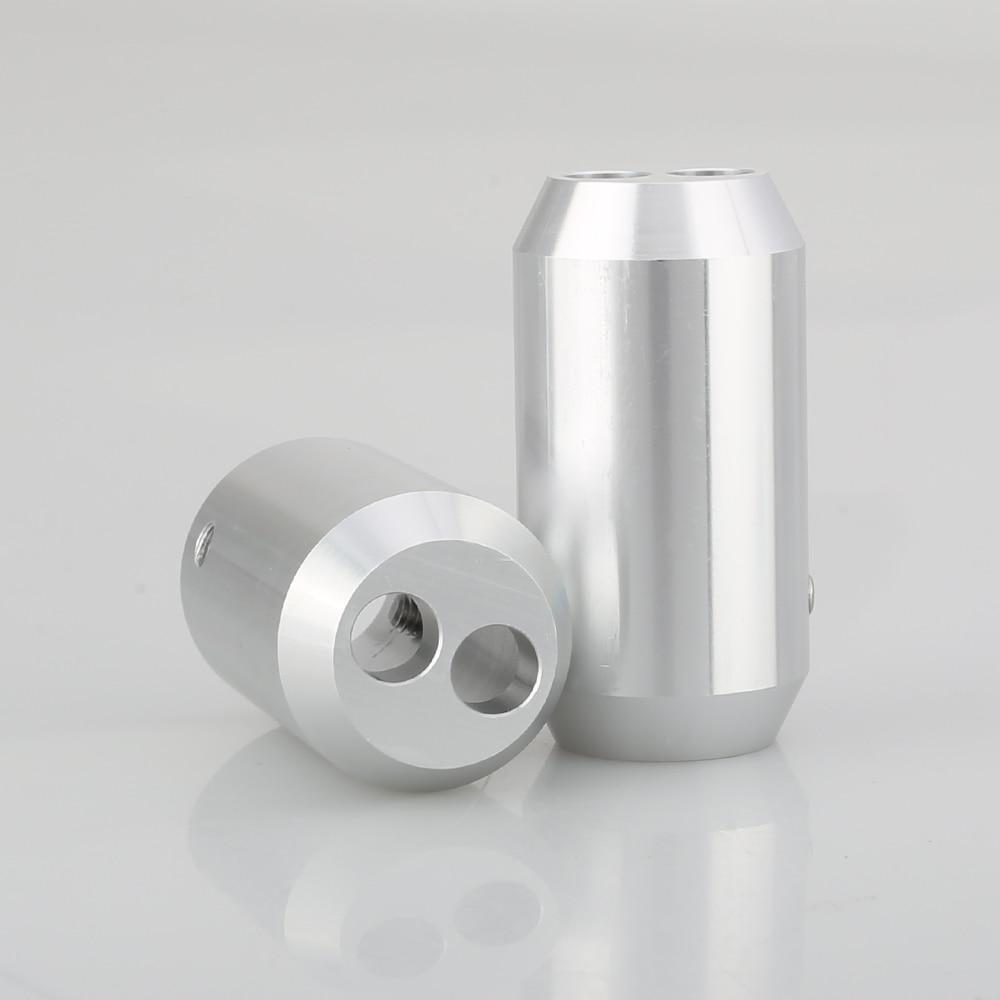 divisor 18mm diâmetro diy cabo de áudio 2x8mm