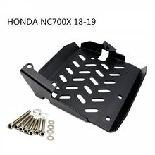 Stainless Steel Motorcycle Accessories Skid Plate Engine Guard Chassis Protection Cover for HONDA NC700X 18-19