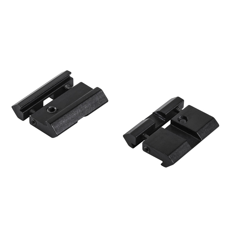 Scope Mount Rail Adjustable Adapter 20mm Picatinny To 11mm Dovetail Hunting Accessories With Stop-pin For Optical Riflescope