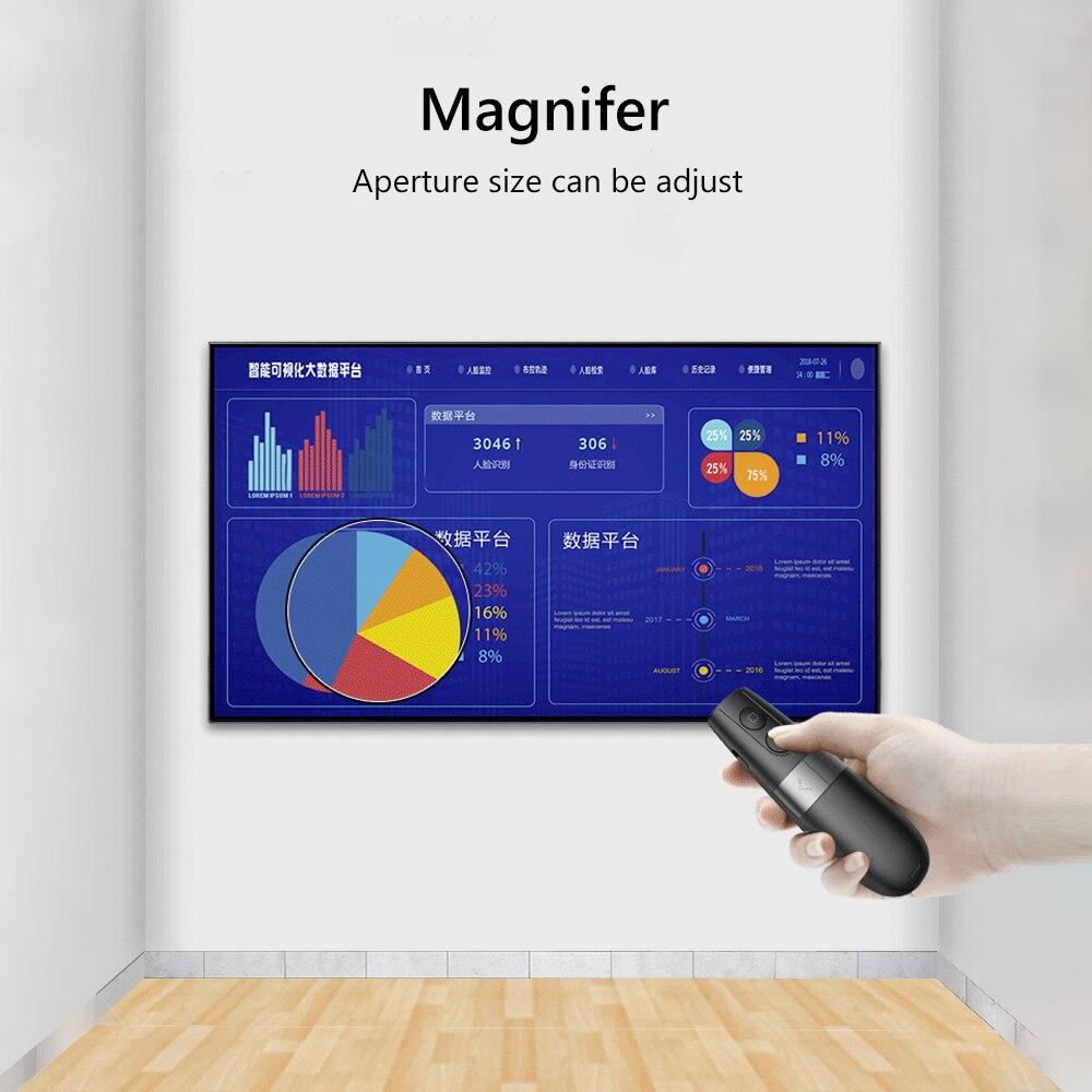 Image 4 - AVATTO Spotlight/Magnifier/Digital Laser Presentation Pointer,PPT  PowerPointer Wireless Presenter Remote Clicker Pen for TeacherRemote  Controls