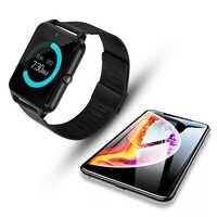 Écran tactile intelligent Z60 Bluetooth Sport musique appel caméra Montre intelligente hommes multi-langue Smartwatch horloge Montre intelligente