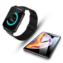 חכם מגע מסך Z60 Bluetooth ספורט מוסיקה שיחת מצלמה חכם שעון גברים רב שפה Smartwatch שעון Montre intelligente