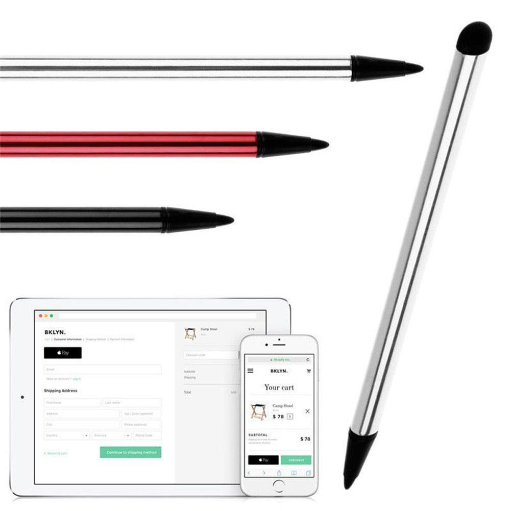 2Pcs Capacitive Pen Touch Screen Stylus Pencil for iPhone iPad Tablet Smartphone