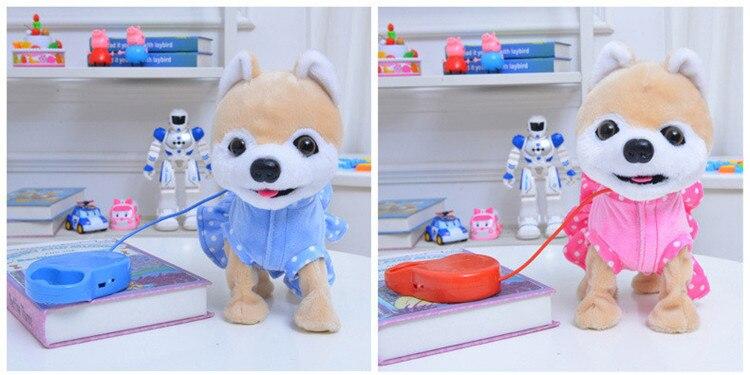 eletrônico pet filhote de cachorro trela teddy