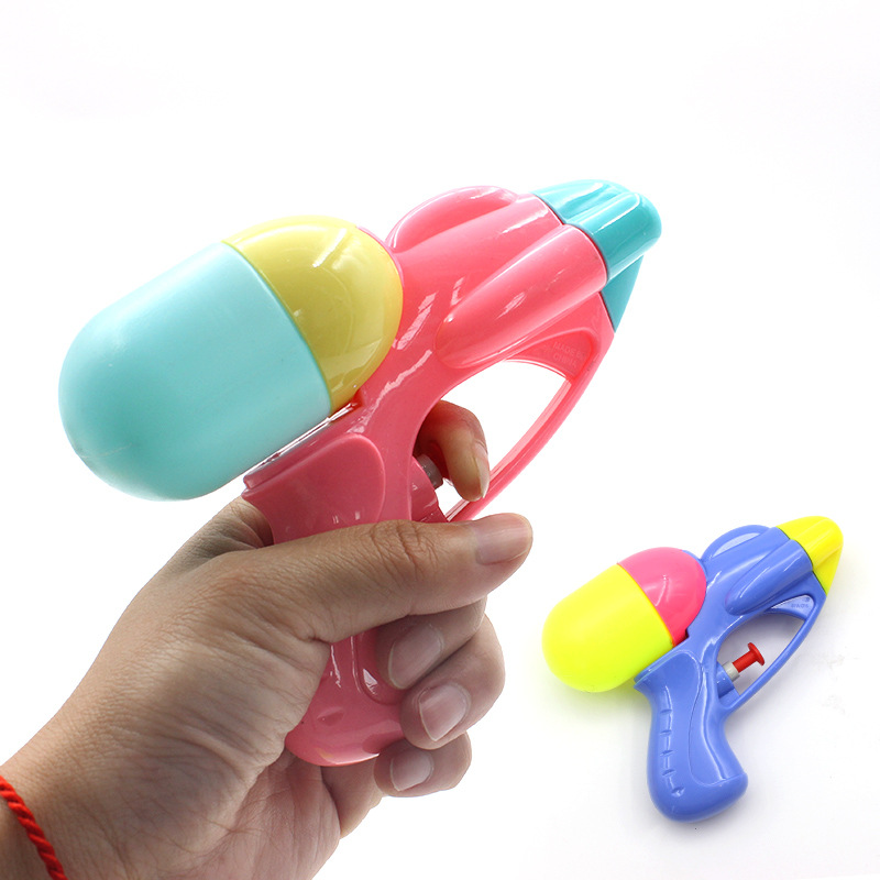 Children summer Fashion Blaster mini Water Guns Toy Kids Colorful Beach Squirt Toy Pistol Spray Water Gun Toys Outdoor Games
