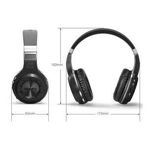Image 3 - Cuffie Bluedio H originali Bluetooth 4.1 Stereo Bass HIFI cuffie Wireless auricolari per chiamate musica con microfono FM