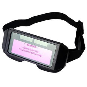 Goggle-Glasses Welding-Helmet Auto Darkening Light-Change Shied Yes for Anti-Eyes