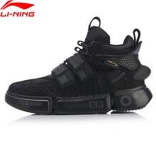Li ning FW hommes ESSENCE ACE + Wade Culture chaussures durables en cuir véritable doublure Li Ning Sport chaussures baskets AGWP027 XYL243