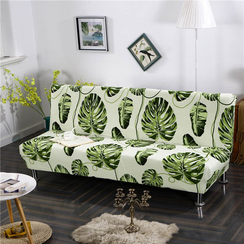 Sofa Cover for Folding Sofa with Tight Wrap to Protect Sofa from Scratch Made with Polyester and Spandex 4