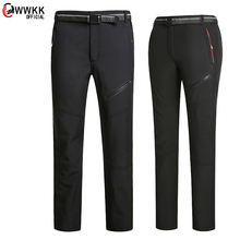 WWKK 2021 Men Women's Hiking Quick Dry Pants Summer Outdoor Sports Stretch Cycling Trekking Fishing Camping Trousers large size