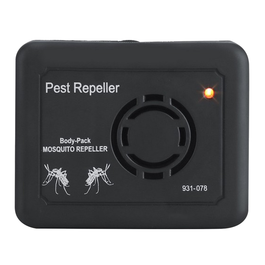 1 Piece Black Ultrasonic Electronic Anti Mosquito Pest Bug Insect Repeller Reject Portable Durable