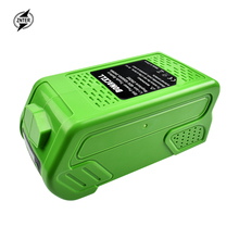 ZNTER 40V 6000mAh Rechargeable Replacement Battery for Creabest 40V 200W GreenWorks 29462 29472 22272 G-MAX GMAX L30 sr240 ss24 2a 40v do 214ac sma