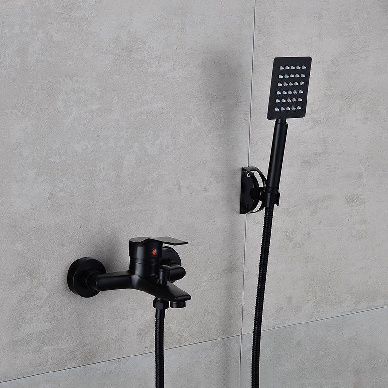 Wand Montiert Badezimmer Dusche Wasserhahn Set Bad Wasserhahn Mischbatterie Mit Handheld Dusche Kopf Set Badewanne Wasserhahn Dusche Sprayer Werkzeug