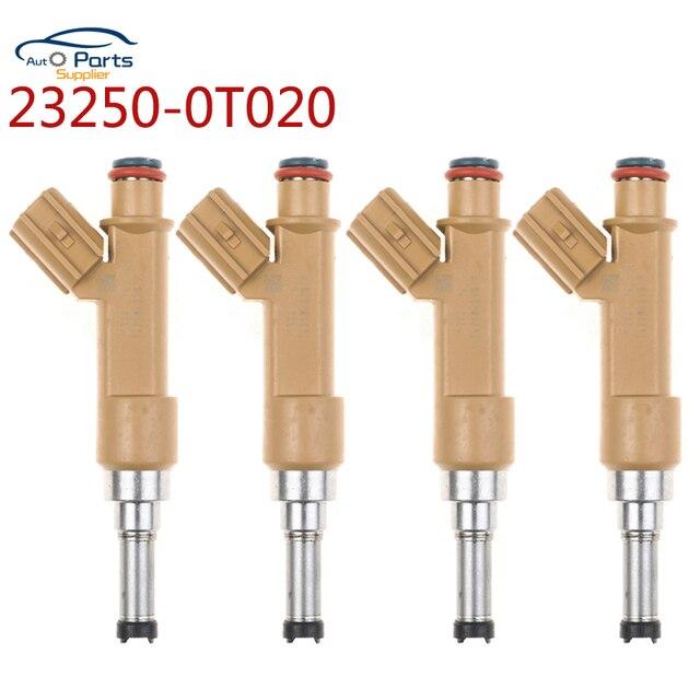 YAOPEI 4Pcs Kraftstoff Injektoren düse Für Toyota Corolla 2009 2015 23209 39146 2320939146 23250 0T020 23209 09120