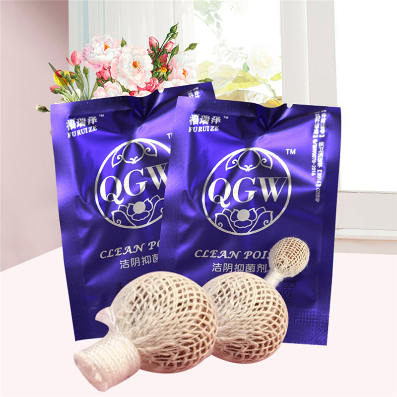 6/10pcs Beautiful life tampons swab vaginal clean point tampon discharge toxins gynaecology pads feminine hygiene product 4