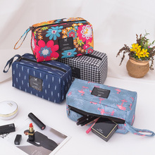 Multifunction Women Cosmetic Bag Polyester Beauty Case Make Up Organizer Storage Large Capacity