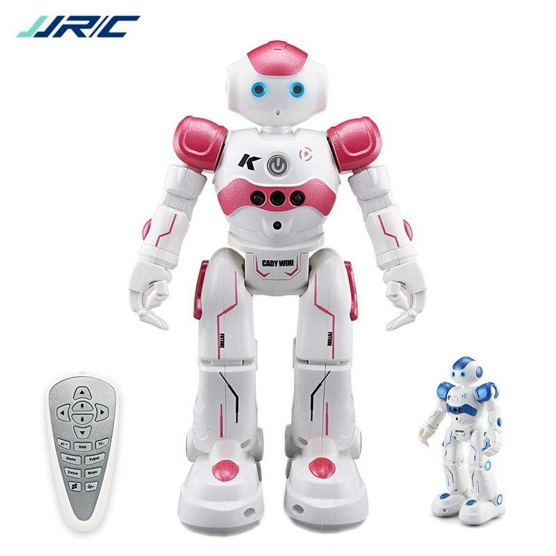 JJRC R2 RC Robot IR Gesture Control CADY WIDA Intelligent Cruise Oyuncak Dancing Robo Kids Toys For Children Smart Robot Toy