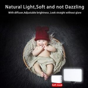Image 4 - Ulanzi VIJIM VL120 LED lumière vidéo photographie Studio lumière sur caméra lumière vidéo conférence lumière diffuseur doux RGB lumière de remplissage