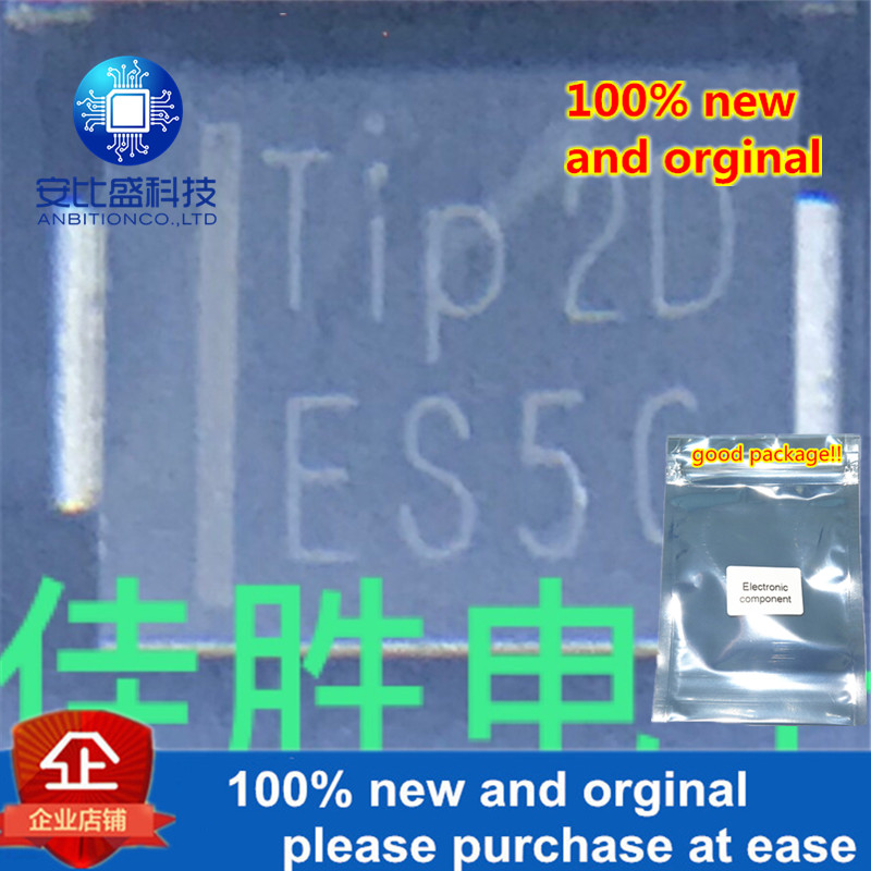 30pcs 100% New And Orginal 0ES5G 5A400 DO214AB Silk-screen ES5G Ultrafast Recovery In Stock