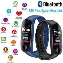 M3 мужские Смарт часы android ios фитнес трекер кровяное давление