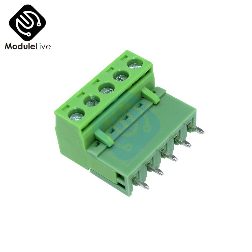 1PC KF2EDGK KF-5P Right-Angle Plug-In Konektor Terminal 5.08 MM PITCH 5 Pin 5.08 MM