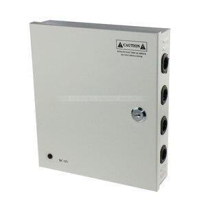Image 4 - 9CH AC100 240V To DC12V 5A 10A 15A Power Supply Box Adapter Transformer for CCTV Security Camera LED Strip String Light