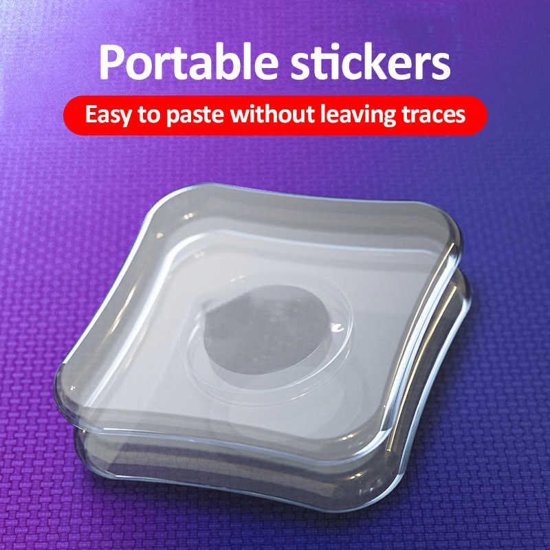 Universele Magie Nano Stickers Geen Spoor Telefoon Houder Nano Dubbelzijdige Tape Kabelhaspel Muursticker Voor Keuken Auto telefoon Stand