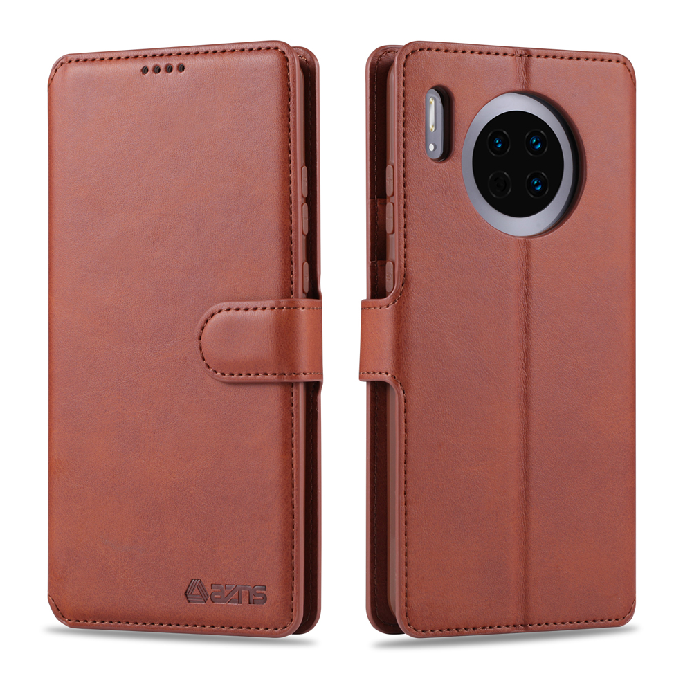 Phone Case For Huawei Mate30 Mate30lite Mate30pro Nova5i Pro Imitation Cowhide Protective Case
