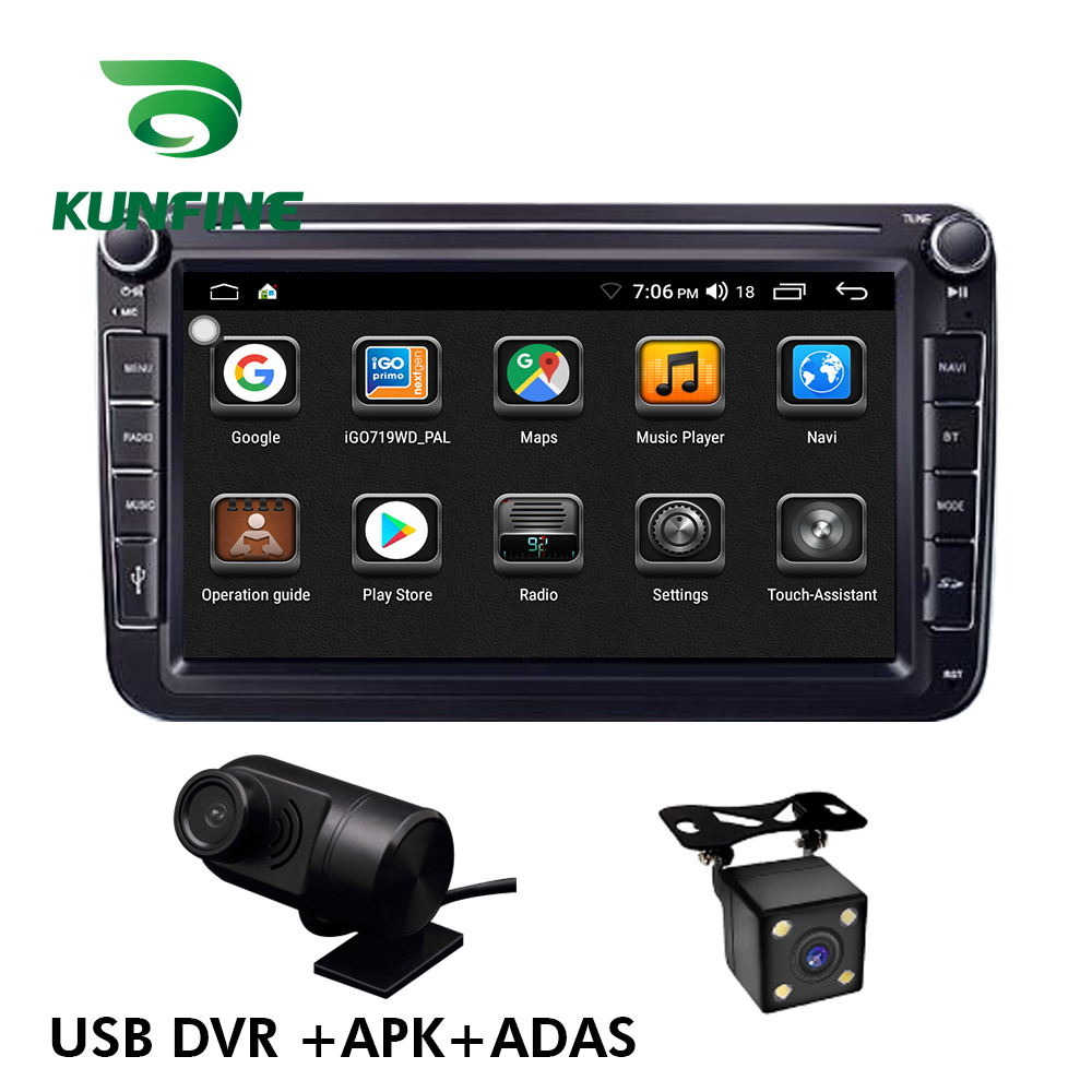 8 Inch Universal Stereo For VW Jetta Passat  Polo CC Touran Android 9.1 Car Radio Multimedia Video Player Auto Stereo GPS Radio