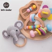 Детская игрушка «Слон» в форме коробочки для новорожденных