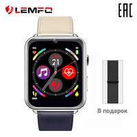 Montre intelligente unisexe LEMFO LEM10 RAM 1 GB + rom16г© montre intelligente avec moniteur en temps réel pour hommes femmes