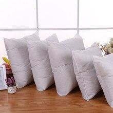 Novo padrão travesseiro almofada núcleo travesseiro interior decoração da casa branco 35x3 5/45x45 cm atacado 30rj10