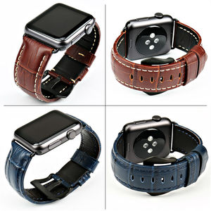 Image 2 - MAIKES watchbands genuine cow leather watch strap for Apple Watch Band 42mm 38mm series 4 1 iwatch 4 44mm 40mm  watch bracelet