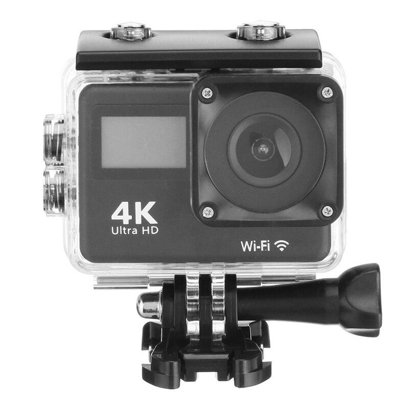 Best DealºAction-Camera Lens Sport 170-Degree Waterproof HD 4K for 30M Wifi-Press DV Wide-Angle