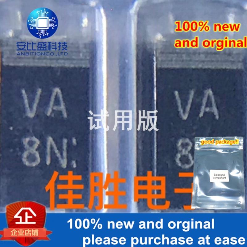 10-20pcs 100% New And Orginal D1F60A Original Production New Battery 1.2A600V Fast Recovery Diode DO214AC Silk Screen VA