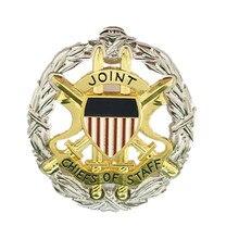 Металлический Кепки значок из нас военная шляпа сотрудник Шапки для Объединенный штабной
