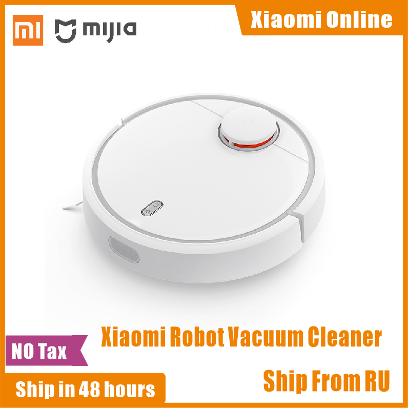 Original Xiaomi Mi Robot Vacuum Cleaner For Home Automatic Sweeping Dust Sterilize Smart Planned WIFI Mijia App Remote Control