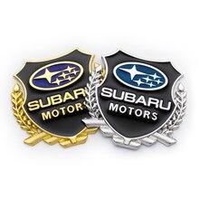 2X 3D автомобильные наклейки Cool VIP Металлический значок-эмблема наклейка для SUBARU LEGACY Forester Outback ралли WRX WRC XV, автомобильные аксессуары, брелок д...