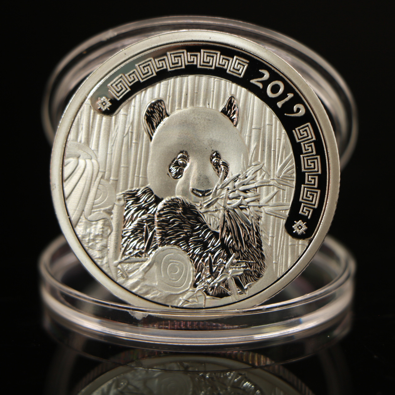 WR 2019 Year of The Pig Silver Coin Set 5pcs The Little Pig Lucky New Year Gifts